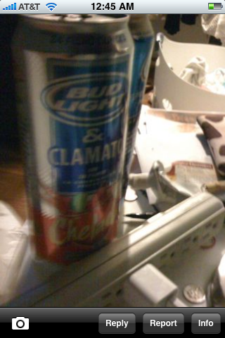 Bud light and Clamato?